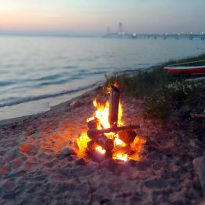 Bon Fire on the Beach